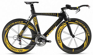 Here you have to Time Trial bike as Lance Armstrong to races in 2009...COOL